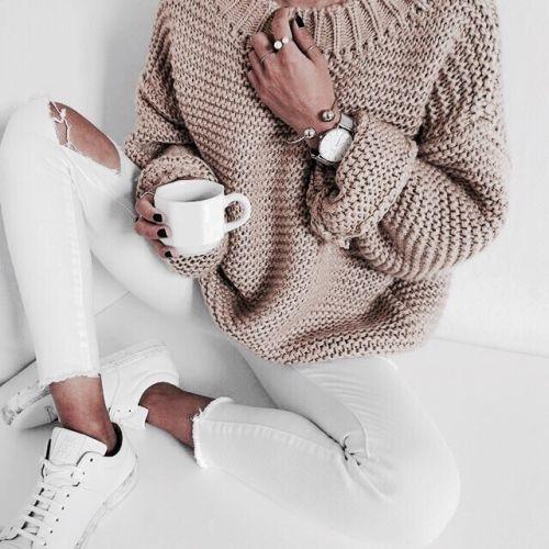 blush knit