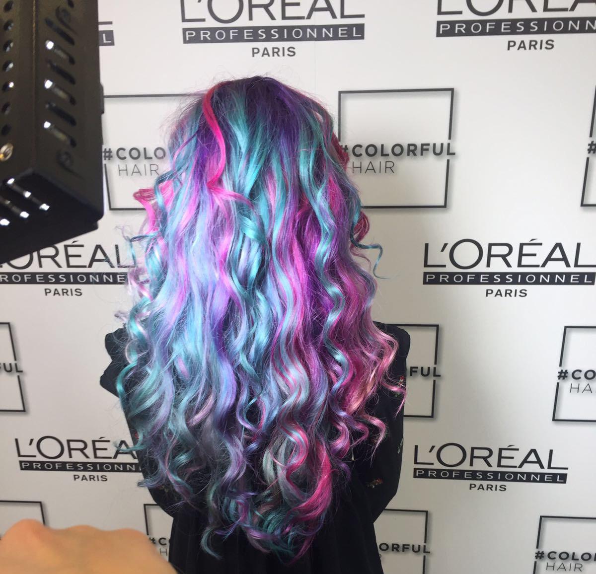 Mermaid Hair By LOreal Colourful Mermazing Blogger