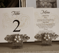 Hearts Personalised Wedding Invitations