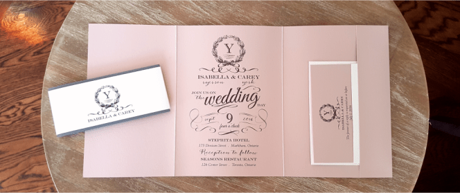 Wedding Invitations Toronto Montreal New York Lasercut