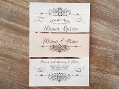 Elegant Wedding Invitation Design Inspiration