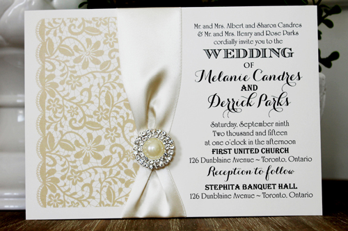 1336 4 89 Wedding Invitation