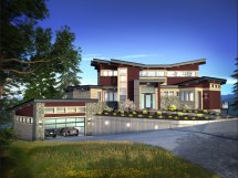 Custom Home Designs Plans