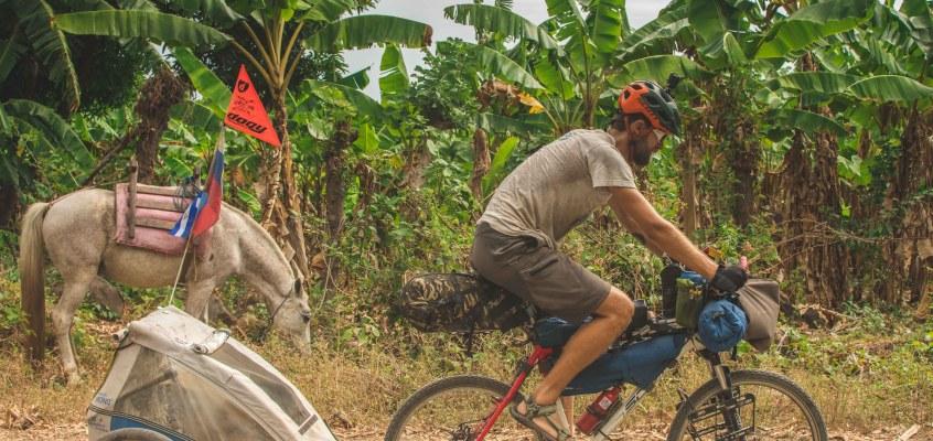 Cycling Ometepe island, Nicaragua