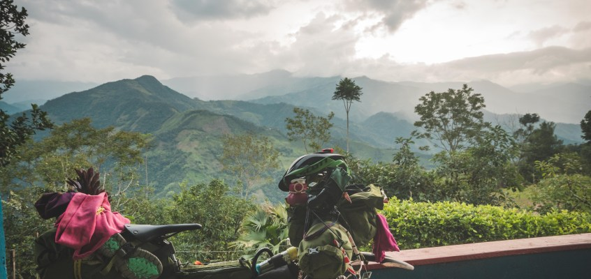 Bikepacking backroads of Colombia