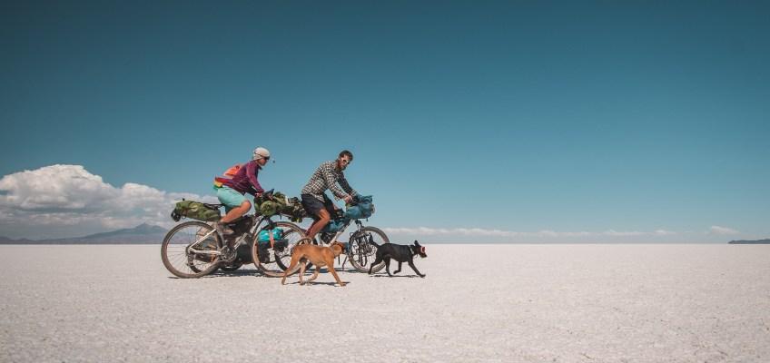 Cycling Salar de Uyuni in Bolivia – video