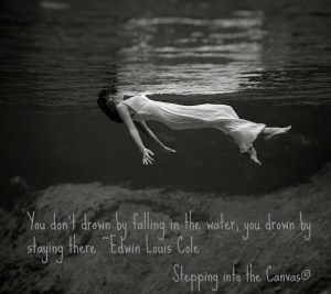 Falling in the Water