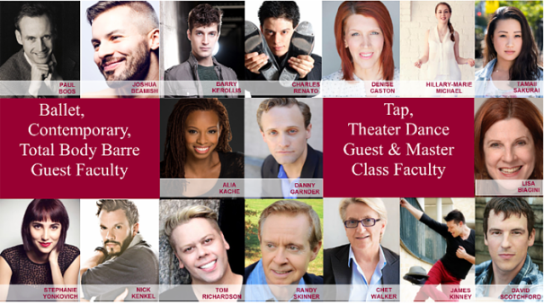 Steps Guest Teachers and Master Classes
