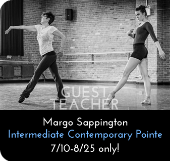 Margo Sappington-Intermediate Contemporary Pointe 7/10-8/25