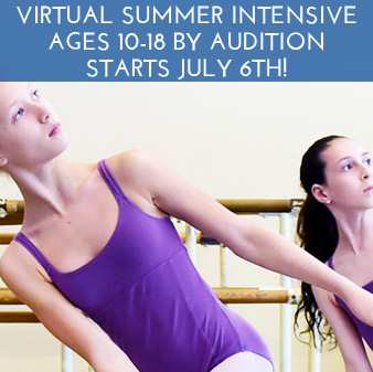 Virtual Summer Dance Intensive (ages 10-18, by audition only)