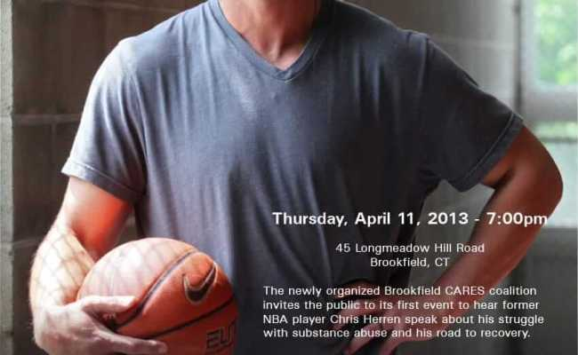 Chris Herren And His Inspirational Message For Recovery