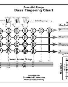 Free bass fingering chart also string electric and flashcards stepwise rh stepwisepublications