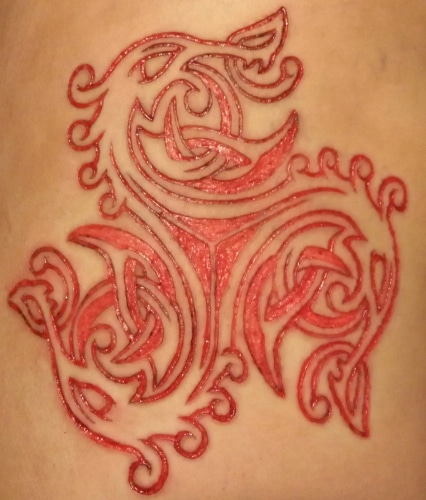 purposeful pain cutting nssi scarification