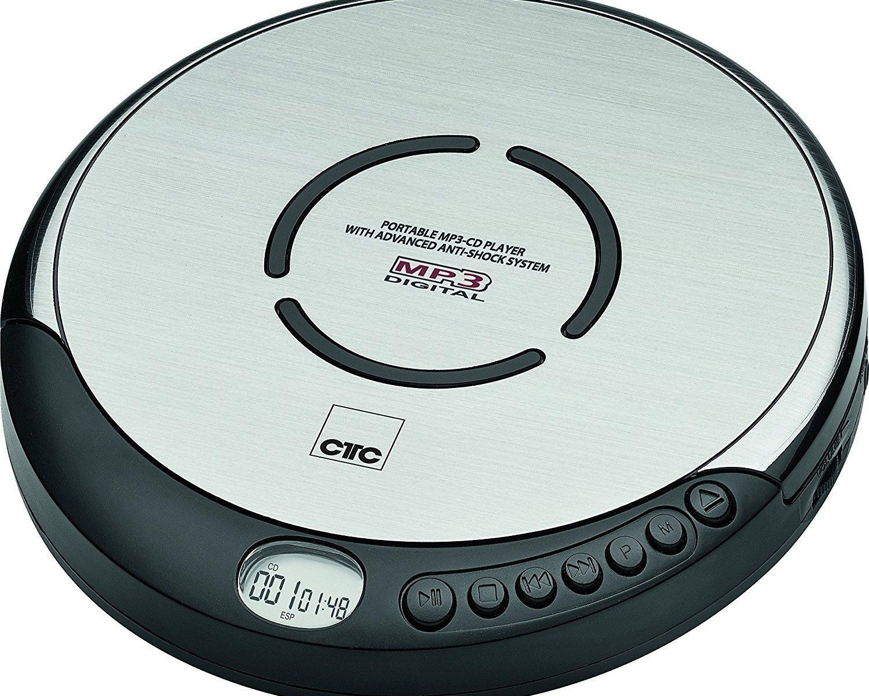Für größere Ansicht Maus über das Bild ziehen Clatronic tragbarer CD-Player