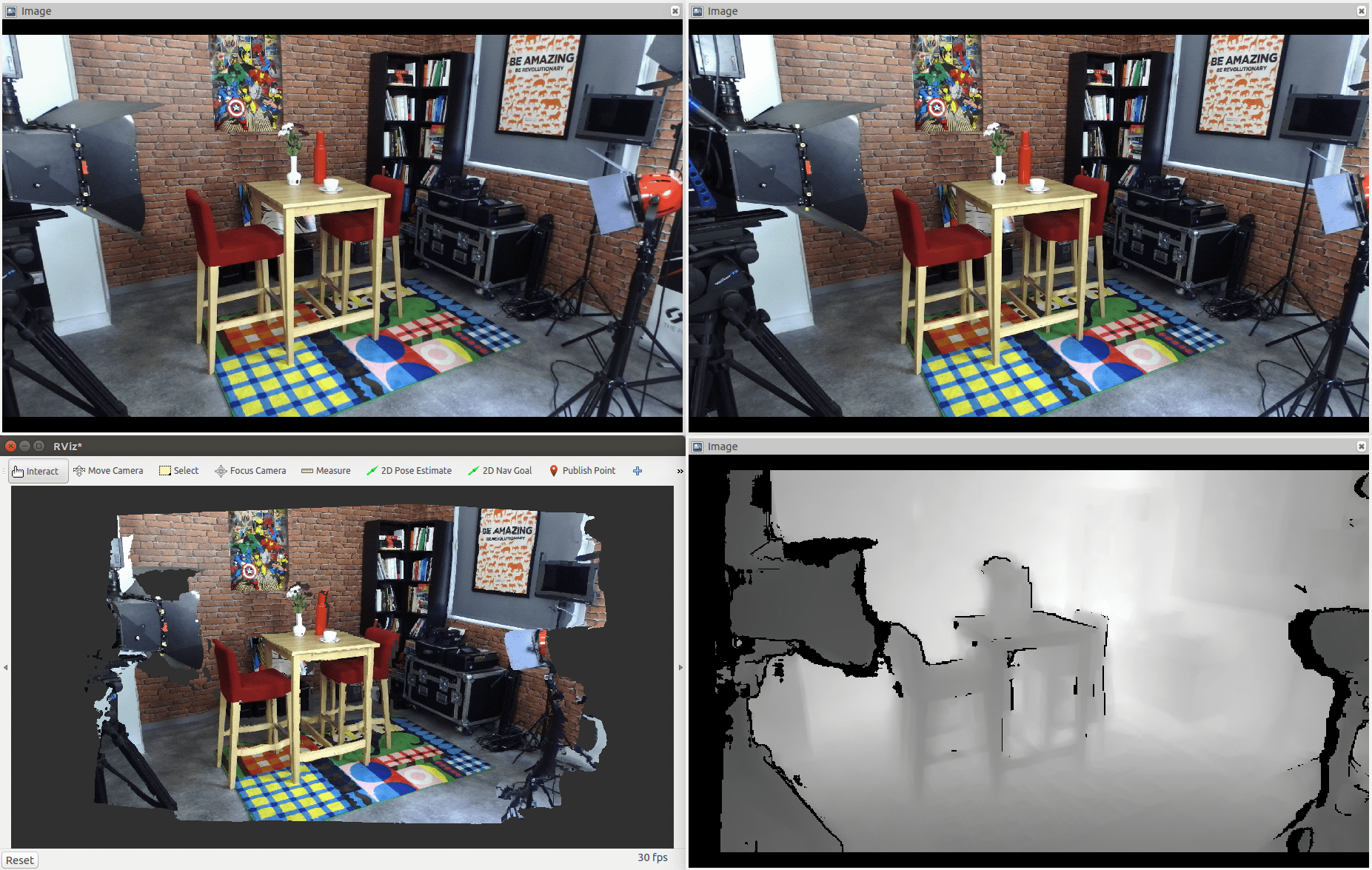 Using the ZED Camera with ROS – Stereolabs