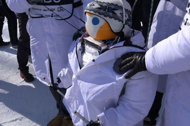 TiBo ski robot