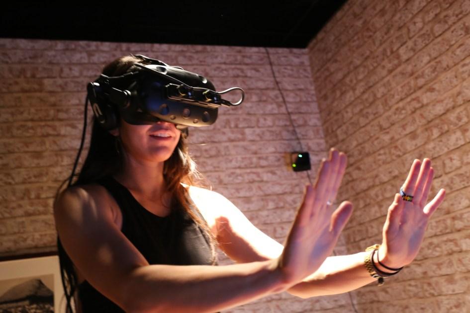 Sundance user in pass-through AR