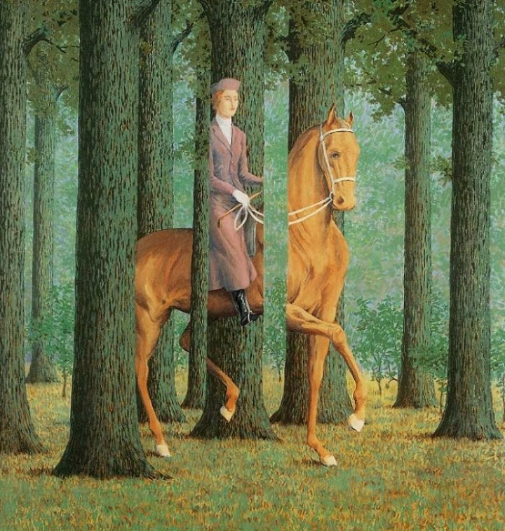 Le Blanc Seing by Magritte