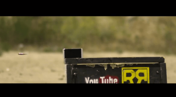 HTC-One-.50-Caliber-Rifle-580x320 HTC One vs. Sniper Rifle - gefilmt in Super Slow Motion [Video] Google Android Smartphones
