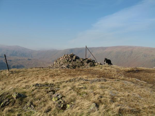 Steel Fell with Greenup Edge and Ullscarf beyond