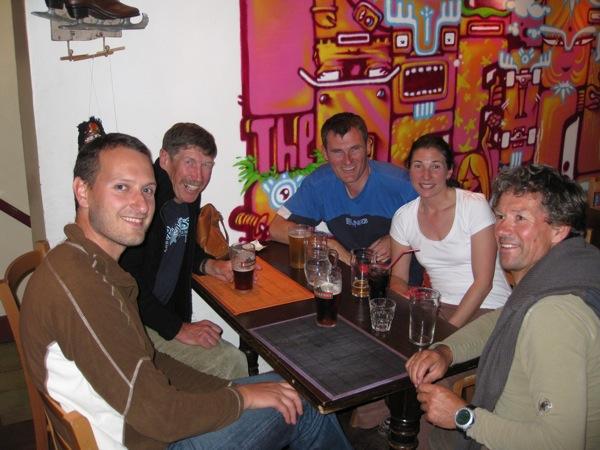 Gaute, Smiler, Pete, Laetitia & Henri at the Office