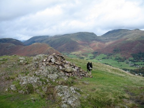 Silver How with Helm Crag, Seat Sandal and Fairfield