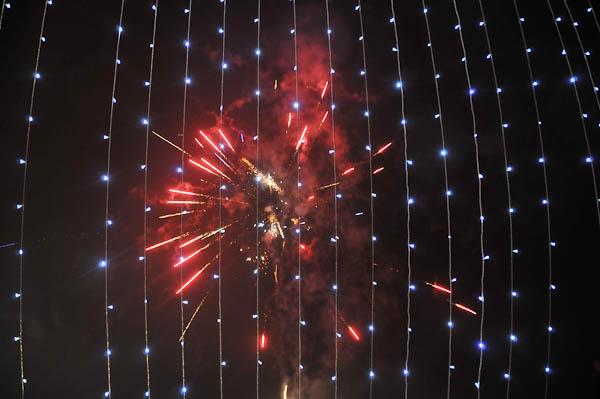 Chamonix Fireworks