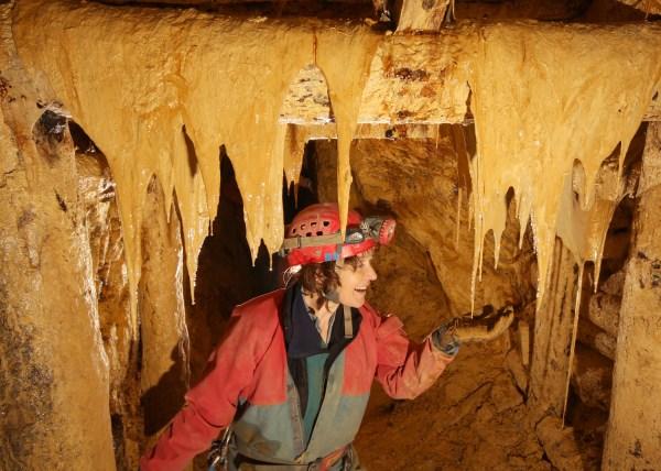 Snottites in Parys Mine
