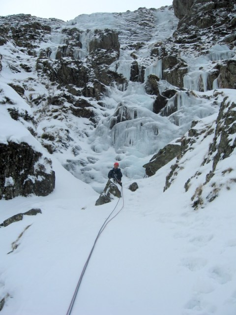 Jon at the start of Pitch 2