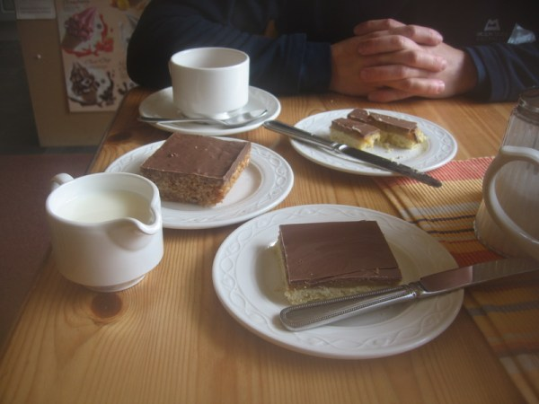 "Cakes and tea at ""Ginger and pickles"" Keswick"