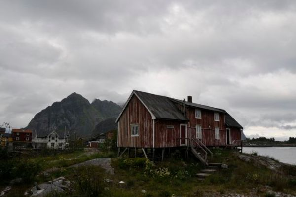 Today's precipitation in Henningsvaer