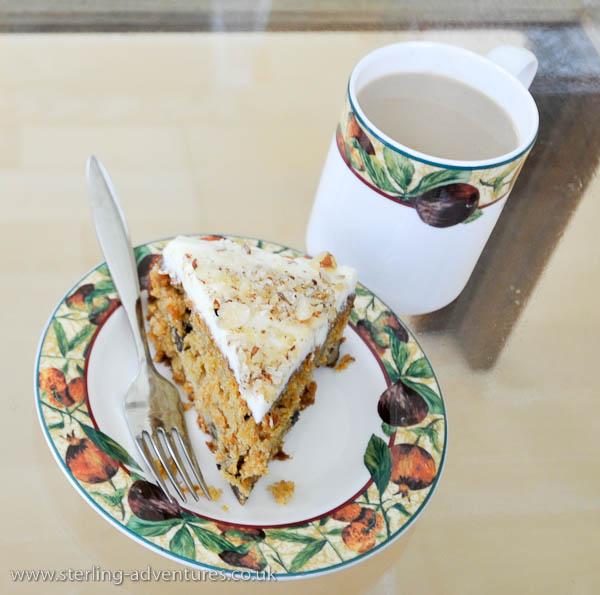 Carrot Cake & Coffee!