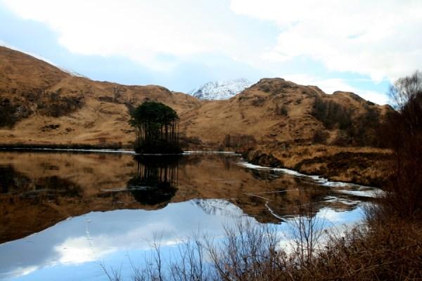 A beautiful morning at Loch Eilt.