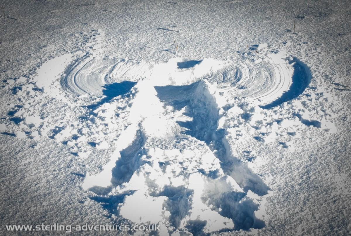 A Snowy Kentmere Horseshoe