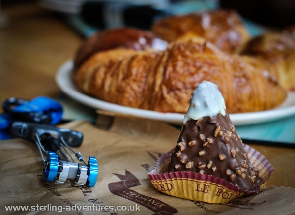 "Chamonix is in France, ""Yeah!"", and what else is in France?  Awesome cakes!  :yum:"