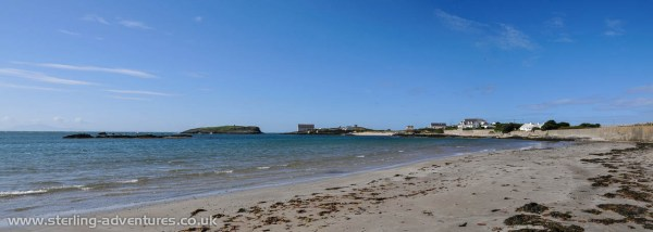 The beach at Rhoscolyn, what an amazing place this must be to have a holiday cottage!