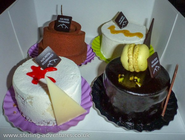 And for that evening's desert ... another round of super yummy cakes!