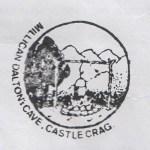 The Millican Dalton Cave letterbox stamp