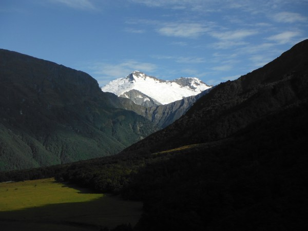 Hiking in the Matukituki Valley, not a bad way to get over jet lag!