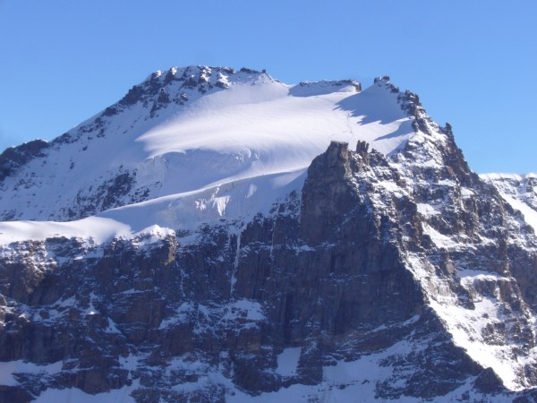 Here you see the Gran Paradiso, taken on a different day