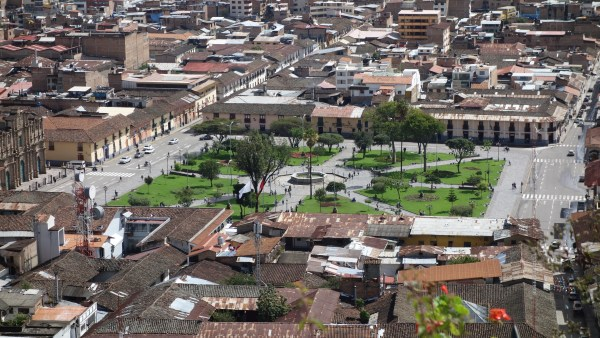 The city square, Plaza de Armas