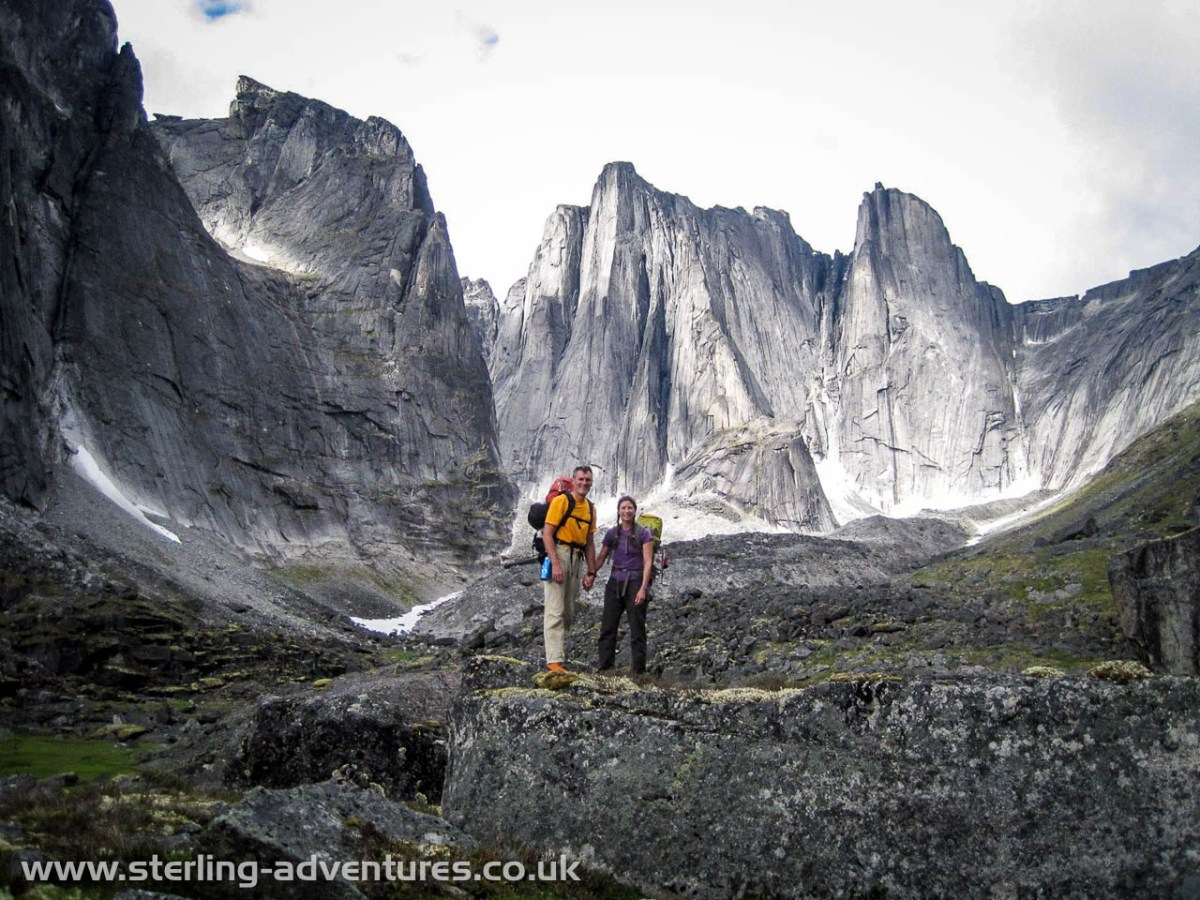 The cirque of the unclimbables sterling adventures pete and laetitia on route to the lotus flower tower izmirmasajfo