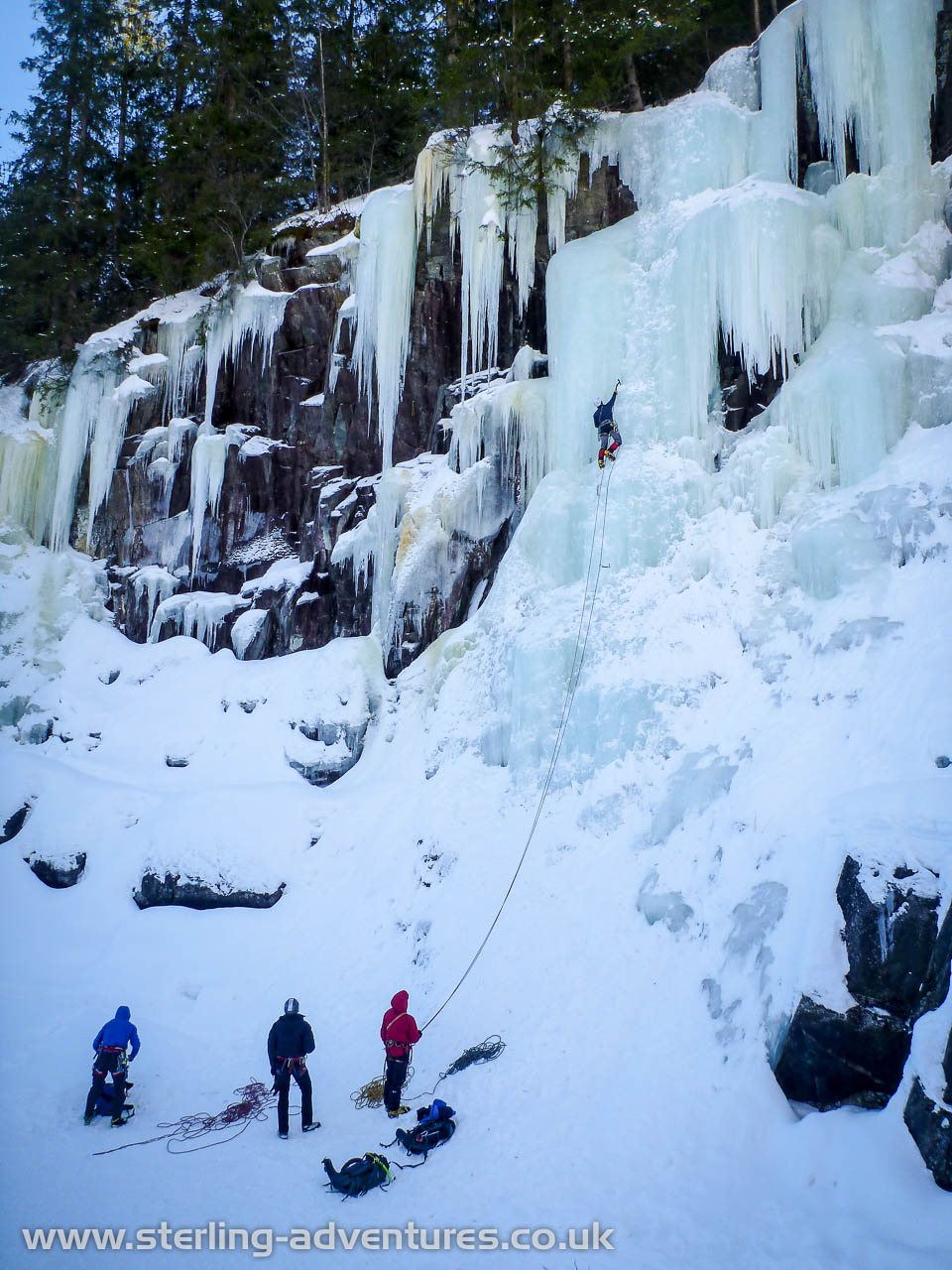 Rjukan Ice Climbing Meet, 2016