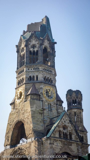 """The Kaiser Wilhelm Memorial Church, or """"The Hollow Tooth"""""""