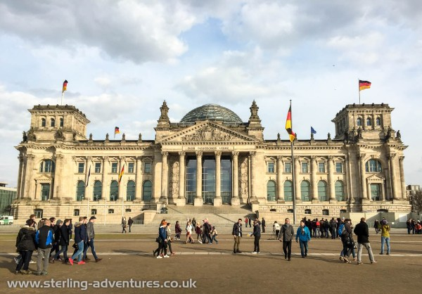 The Reichstag is one amazing government building