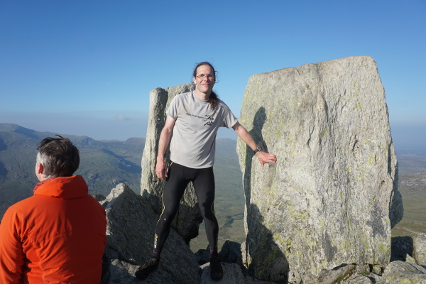 The summit of Tryfan. Number 13 out of 15!