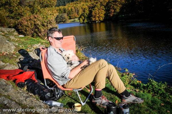 Enjoying the sunshine on Peel Island