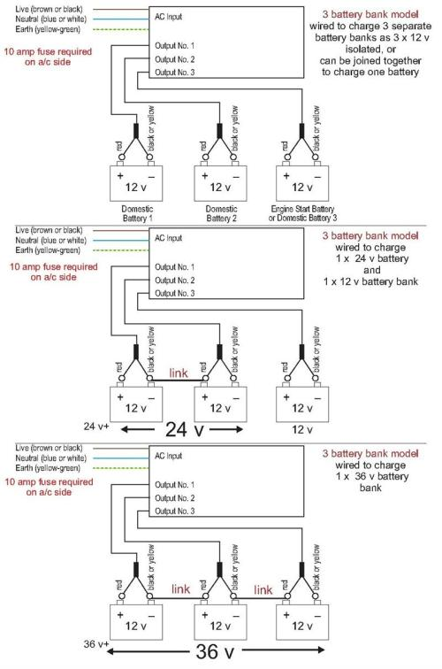 small resolution of 3 bank charger wiring diagram
