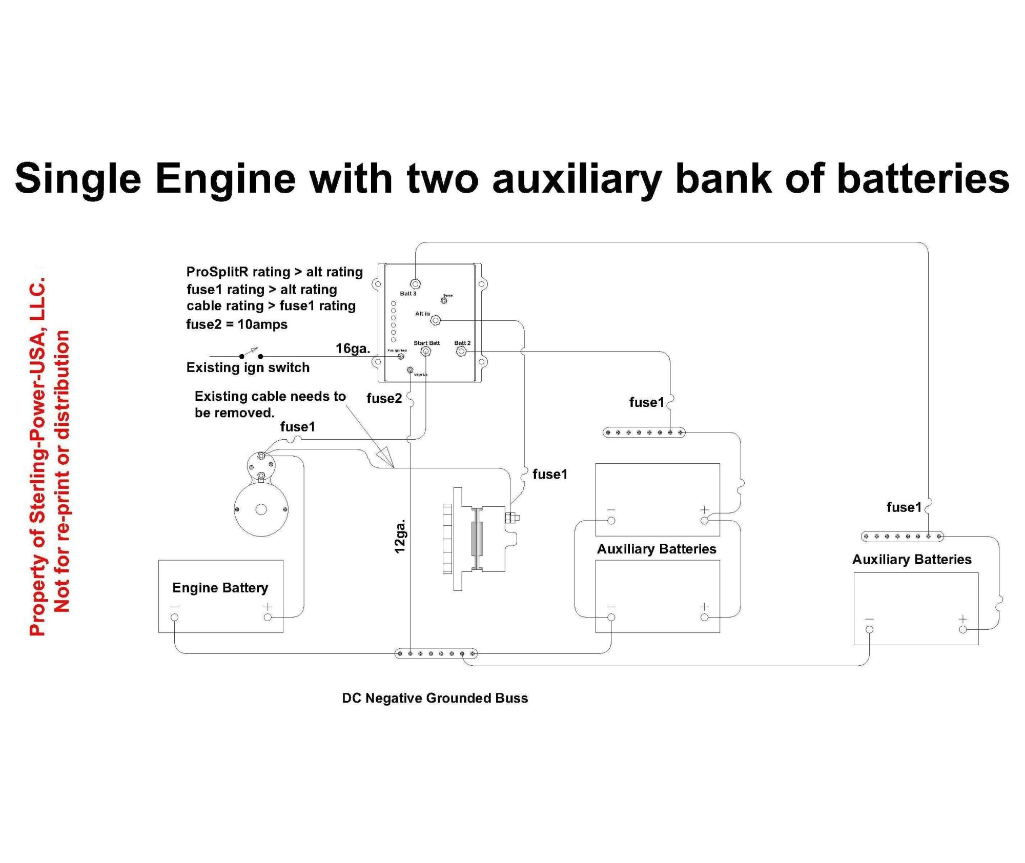 hight resolution of  prosplit r 1 3 wiring diagrams literature for pro charge ultra marine battery marine battery