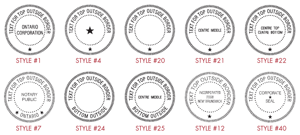Legal Seals- Sterling Marking Products Inc